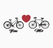 Love You Bike Cycling Bicycle  by SportsT-Shirts