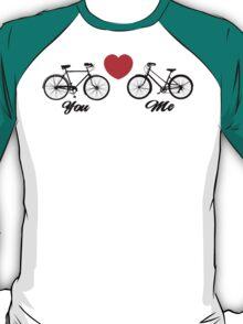 Love You Bike Cycling Bicycle  T-Shirt