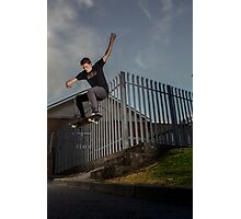 Neil - Frontside 180 | 2013 Photographic Print