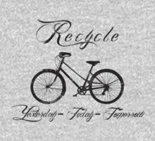 Recycle Bike Cycling Bicycle Women's by SportsT-Shirts