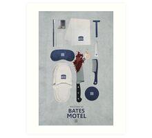 Bates Motel Art Poster Art Print