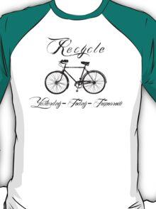 Recycle Bike Cycling Bicycle Men's T-Shirt