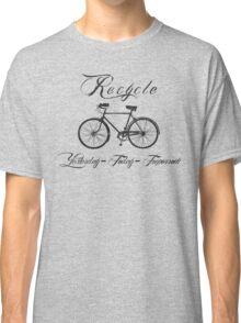 Recycle Bike Cycling Bicycle Men's Classic T-Shirt