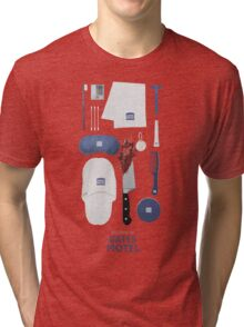 Bates Motel Art Poster Tri-blend T-Shirt