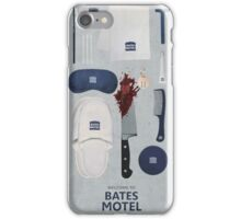 Bates Motel Art Poster iPhone Case/Skin