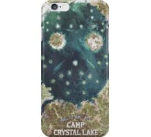 Welcome To Camp Crystal Lake iPhone Case/Skin