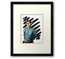 Malcolm Reynolds aka Mal aka… Nathan Fillion Framed Print
