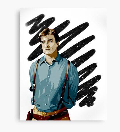 Malcolm Reynolds aka Mal aka… Nathan Fillion Canvas Print