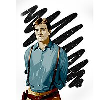 Malcolm Reynolds aka Mal aka… Nathan Fillion Photographic Print