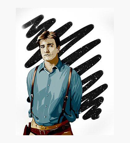 Malcolm Reynolds aka Mal aka… Nathan Fillion Photographic Print