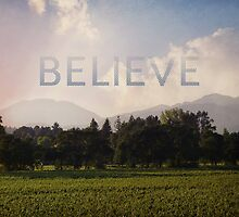 BELIEVE by ElleEmDee