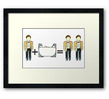 Who Math #2 Framed Print