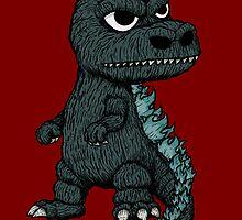 Baby Godzilla by joehavasy