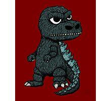 Baby Godzilla Photographic Print