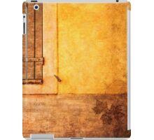 Yellow French'n'Maple leaf iPad Case/Skin