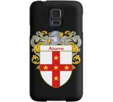 Adams Coat of Arms/Family Crest Samsung Galaxy Case/Skin