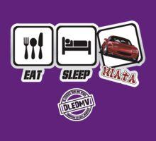 DLEDMV - Eat Sleep Miata T-Shirt