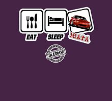 DLEDMV - Eat Sleep Miata Unisex T-Shirt
