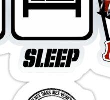 DLEDMV - Eat Sleep Miata Sticker