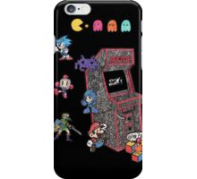 Arcade Game Booth /w background iPhone Case/Skin