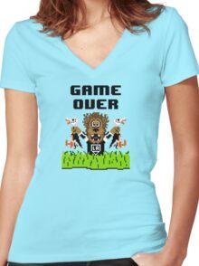 Duck Season (Light) Women's Fitted V-Neck T-Shirt