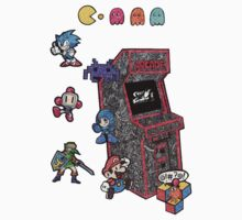 Arcade Game Booth /without background Kids Clothes