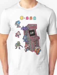 Arcade Game Booth /without background Unisex T-Shirt