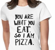 I am Pizza Womens Fitted T-Shirt