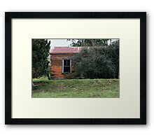 Picturesque decay - Dovedale 3 Framed Print