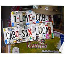 I Love Cabo Poster