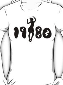 Retro Eighties Woman T-Shirt