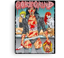 Goregrind Chicks Canvas Print