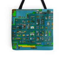 Retro City Rampage Map Tote Bag
