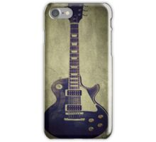 Les Paul Guitar iPhone Case/Skin