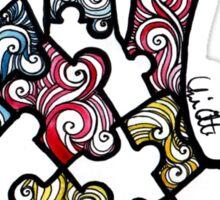 Puzzle Hand Sticker