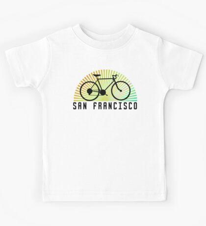 Bike San Francisco Kids Tee