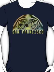 Bike San Francisco Dark T-Shirt