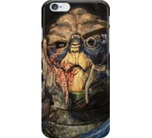 Garrus Vakarian Oil Painting iPhone Case/Skin