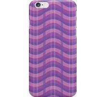 Wavy Plaid (Purple) iPhone Case/Skin