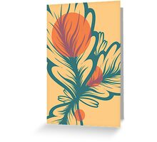 Flora//One Greeting Card
