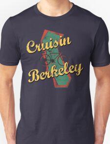 Bike Cycling Bicycle Cruising Berkeley California T-Shirt