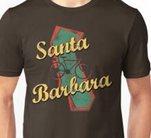 Bike Cycling Bicycle Santa Barbara California Unisex T-Shirt
