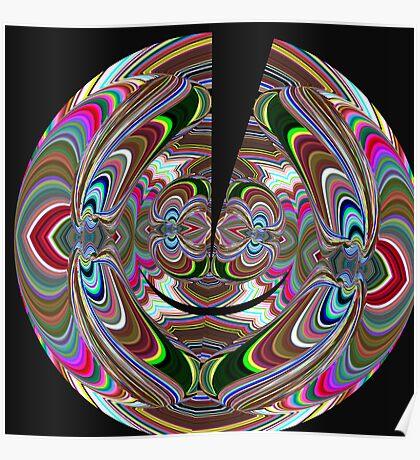 psychedelic split Poster