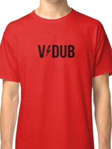 V/DUB (AC/DC Style) Black Classic T-Shirt