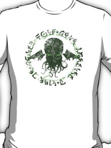 In his house at R'lyeh dead Cthulhu waits dreaming GREEN T-Shirt