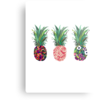 pineapple pine apple pineapple Metal Print