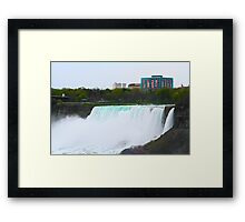 American Side of Niagara Falls Framed Print
