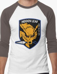 Nine-Tailed Fox Hound Men's Baseball ¾ T-Shirt