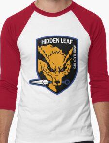 Nine-Tailed Fox Hound Men's Baseball ¾ T-Shirt