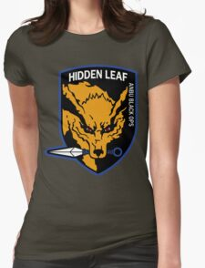 Nine-Tailed Fox Hound Womens Fitted T-Shirt